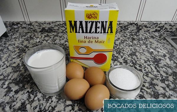 ingredientes para hacer crema pastelera facil