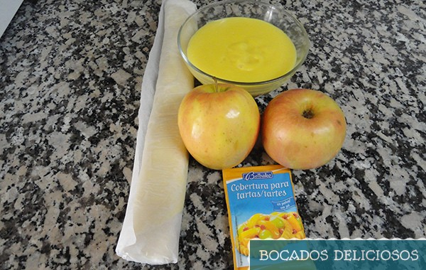 ingredientes tarta de manzana facil de hacer