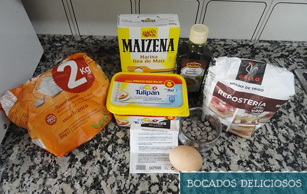 ingredientes mugcake sabor cookies