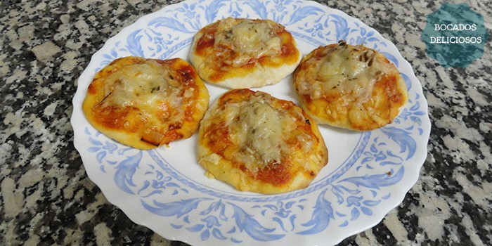 Mini pizzas caseras