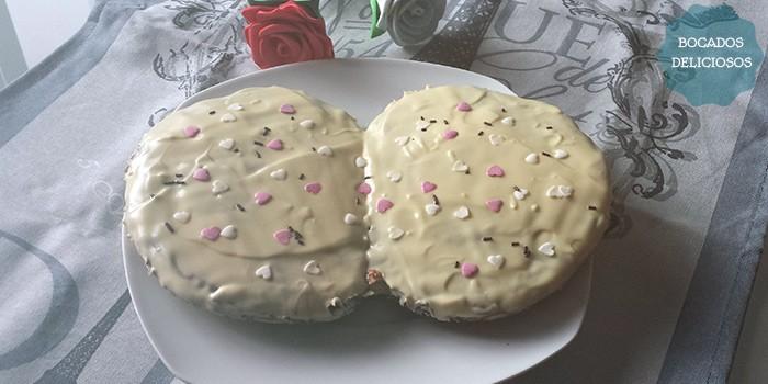 Palmerón de Nutella y Chocolate Blanco