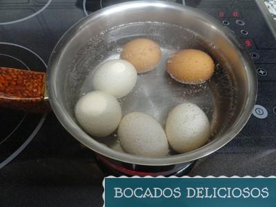 hervimos los huevos