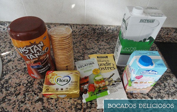 ingredientes tarta de chocolate blanco