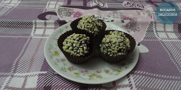 Bombones Caseros Ferrero Rocher