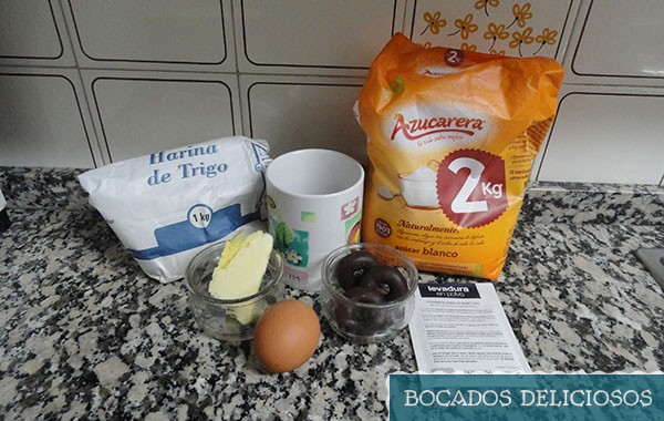 ingredientes mug cake de filipinos