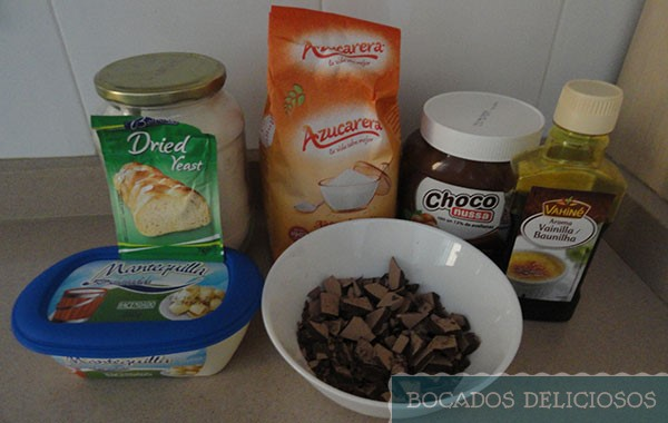 ingredientes Cookies