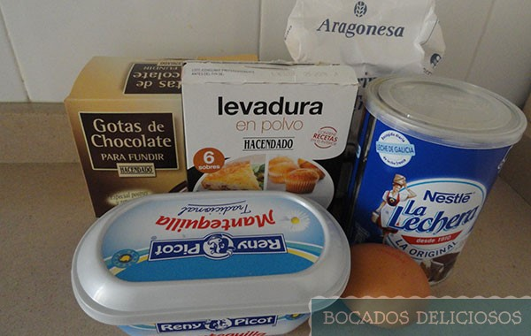 Ingredientes galletas de leche condensada